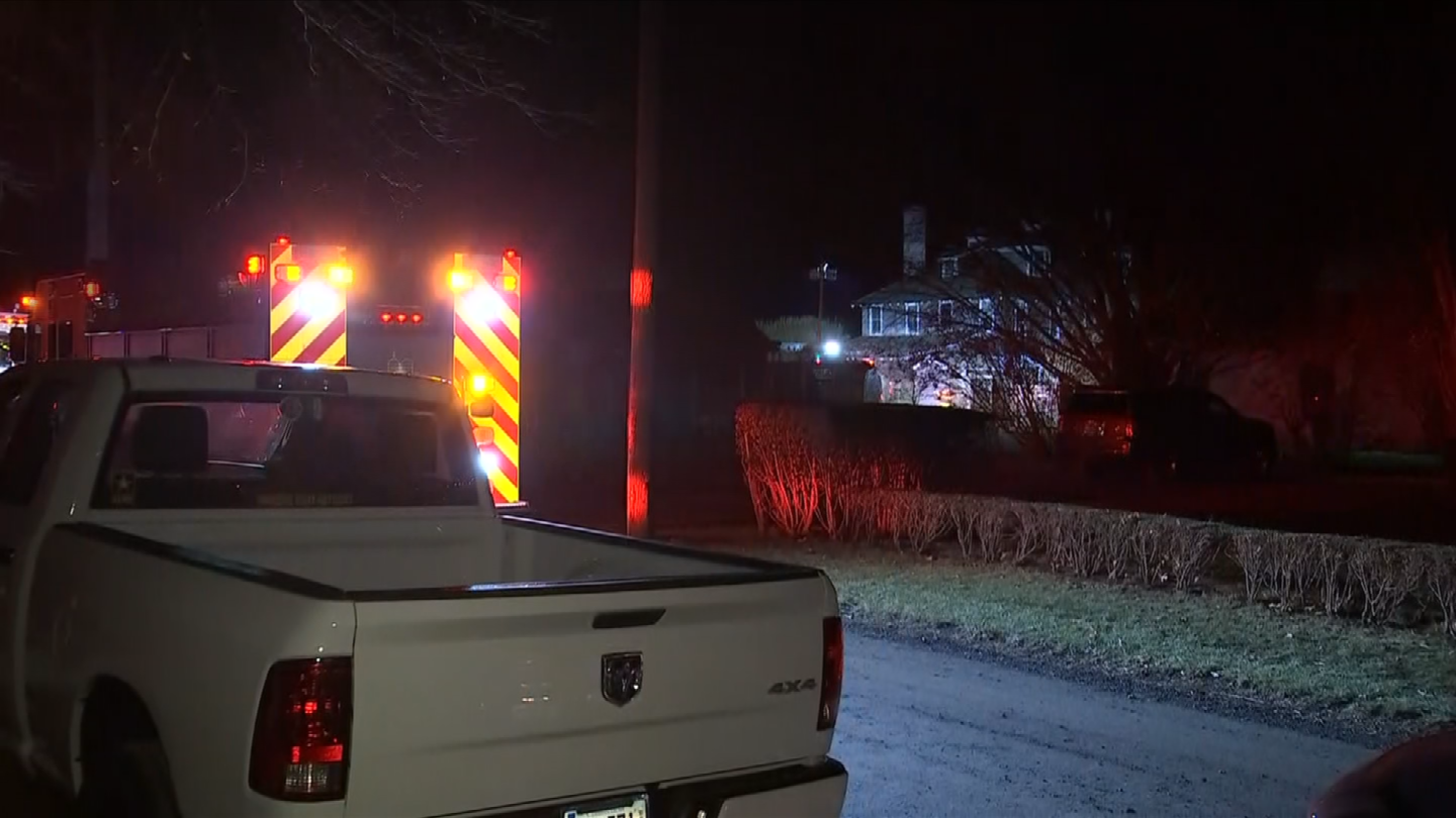 Crews are at a home on Pettipaug Ave in Old Saybrook where a fire broke out on Christmas Eve. (WFSB)