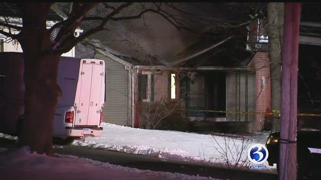 Firefighters were on the scene of a structure fire in Windsor on Tuesday morning. (WFSB)