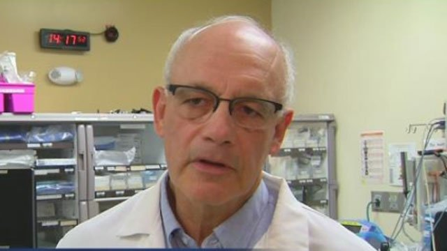 Dr. Steven Wolf warned everyone that this cold snap will go beyond normal winter weather. (WFSB)