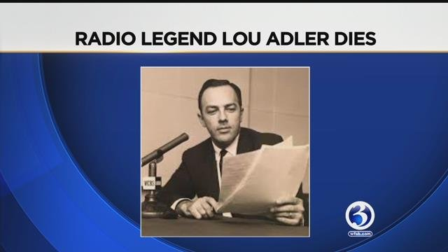 Broadcast icon Lou Adler died last week after a long illness. (WFSB)