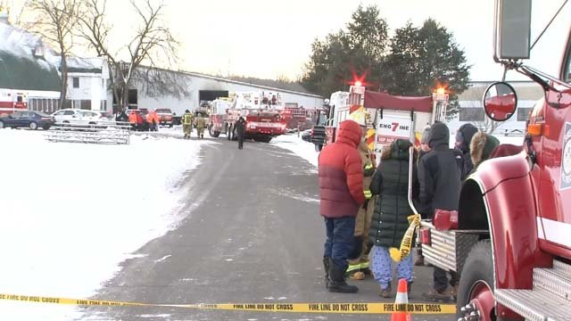 24 horses died after a fire broke out at a farm in Simsbury (WFSB)