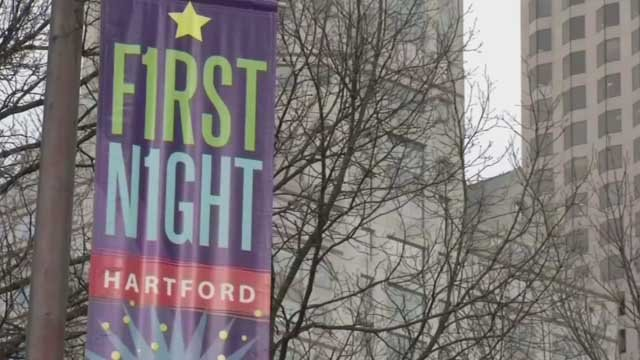 First Night Hartford preparations are underway, even in the frigid temps (WFSB)
