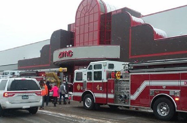 VIEWER: Burst water pipe prompts evacuation in Plainville movie theatre