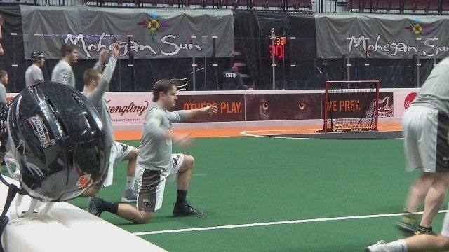 The New England Black Wolves have worked to build a growing fan base and their fourth season kicked off at the beginning of the month. (WFSB)