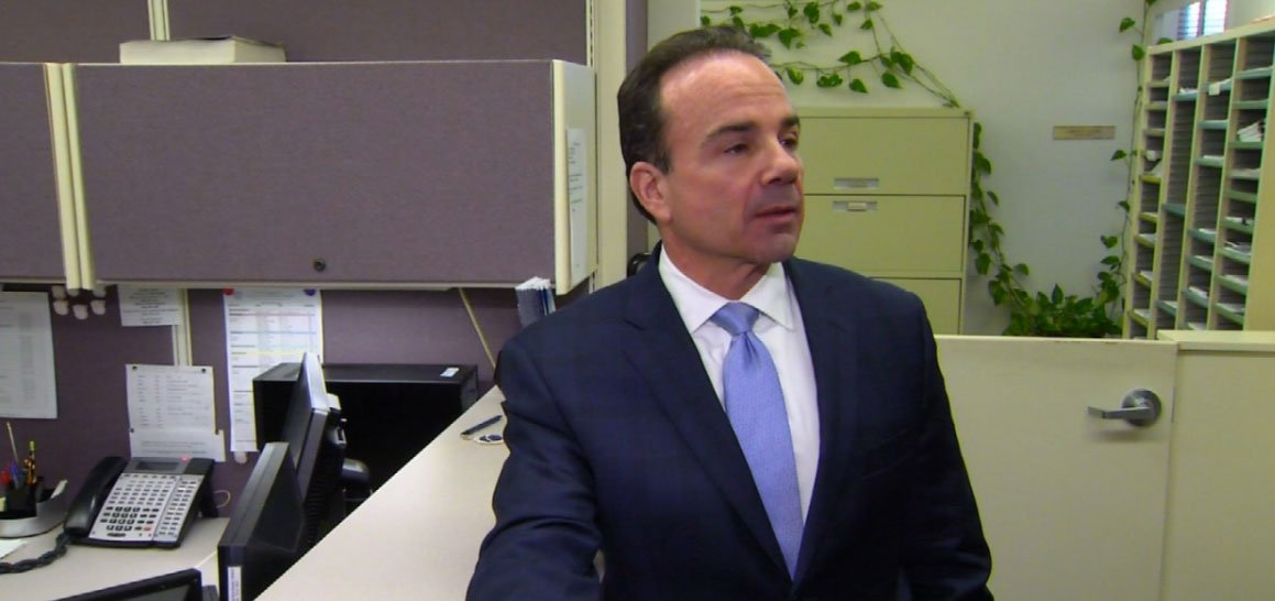 Democrat Joe Ganim who mounted a political comeback with his election as mayor of Connecticut's biggest city is now running for governor. (WFSB)