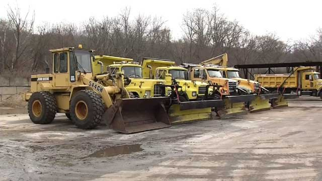 Shoreline communities were preparing for Winter Storm Brody on Wednesday (WFSB)