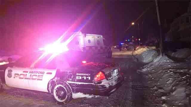 A man was shot in Hartford Thursday night (Deputy Chief Brian Foley)