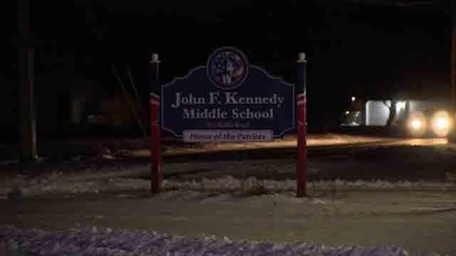 JFK middle School in Enfield (WFSB)