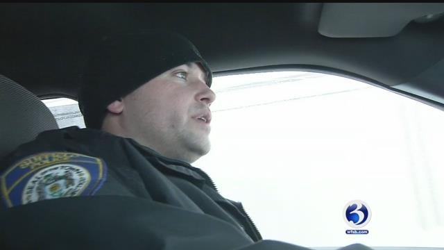 The Suffield Police Department took Channel 3 on a ride along on Thursday. (WFSB)