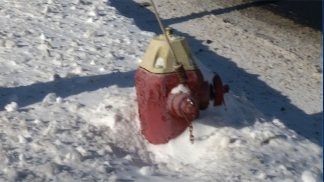 Firefighters ask residents to clear snow from around hydrants. (WFSB)