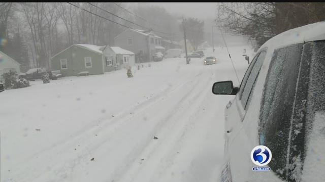 The weather expected this weekend presents immediate danger for people and homes. (WFSB)