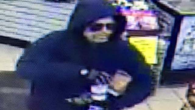 Police say this man robbed a gas station in Durham (CT State Police)