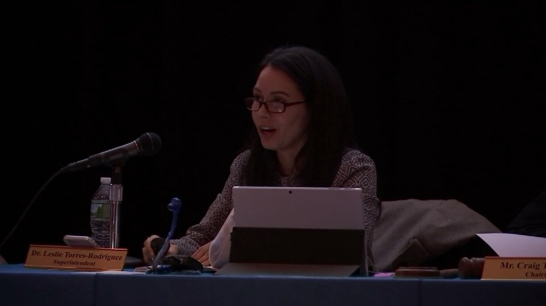 Leslie Torres-Rodriguez, superintendent of Hartford Public Schools. (WFSB file)
