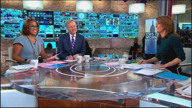 Gayle King, John Dickerson and Norah O'Donnell. (CBS News)