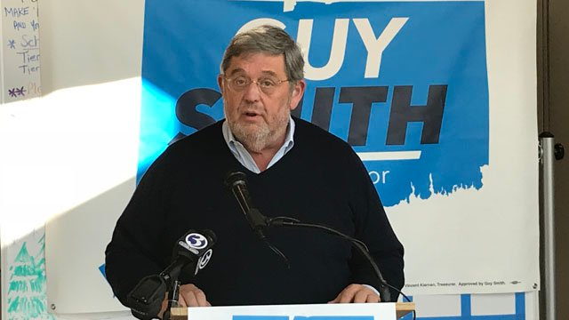 Guy Smith of Greenwich announced on Tuesday that he will seek the Democratic nomination for Connecticut governor. (WFSB)