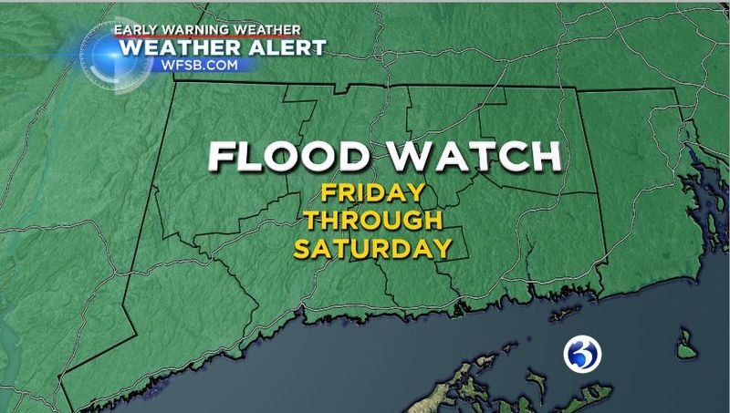 Some 'pretty heavy rain' and warmer temperatures could lead to flooding