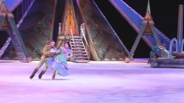 Disney on Ice presents Frozen at the XL Center in Hartford this weekend. (WFSB)
