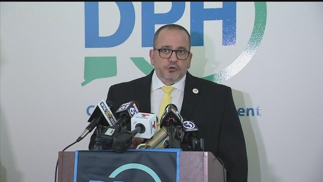 DPH commissioner Raul Pino reported 15 deaths from the flu this season. (WFSB)