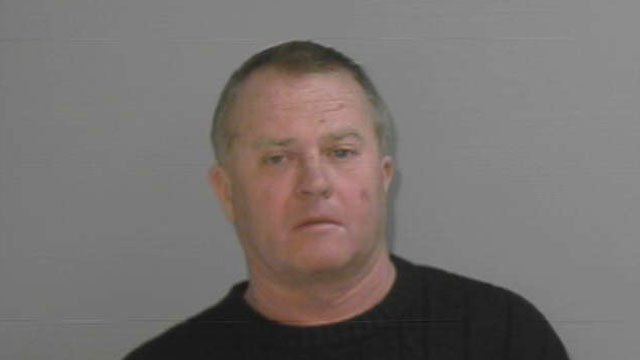 Robert Sumner was arrested after police learned that three horses were not being fed or enough water in Suffield. (Suffield Police Department)