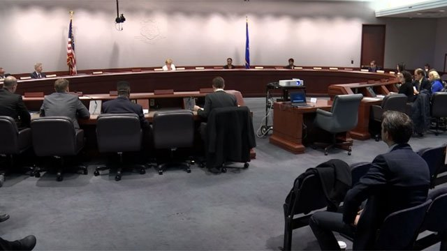Connecticut lawmakers held a hearing about state medical transportation on Friday. (WFSB)