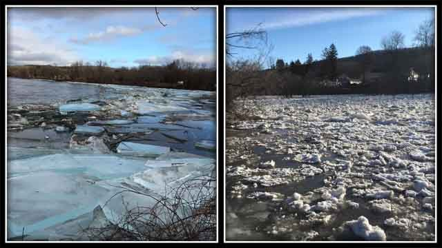 Flooding Is still a major concern in some areas across the state, especially the Connecticut River, Housatonic River, Pawcatuck River, Farmington River, and Shetucket River as residents gear up for potential 'ice jams.' (Photo Courtesy of WFSB)