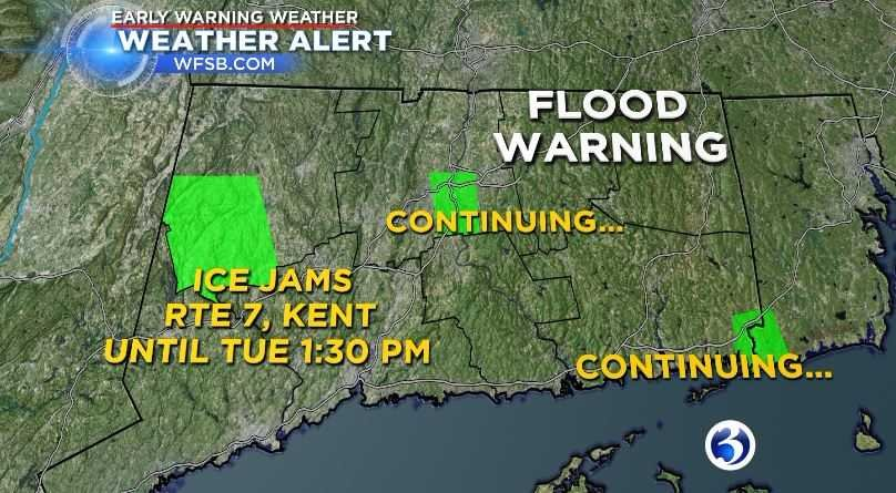 Flood Warning issued for Hartford area along CT River (WFSB)