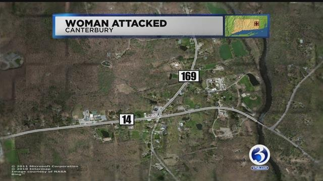 A woman was attacked by a man with crowbar in Canterbury last week, police said. (WFSB)