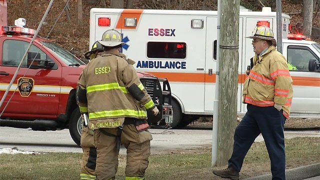 A fire was reported at a chemical plant in Essex on Monday afternoon. (WFSB)