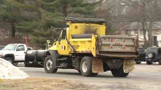 Winter storm budgets in some towns are taking a hit with recent snowfalls (WFSB)