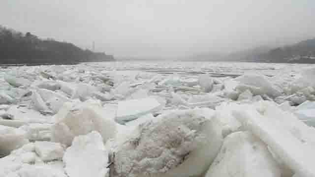 Ice jams continue to cause issues on CT rivers (WFSB)