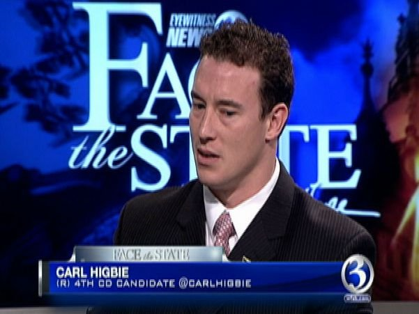 Carl Higbie has appeared on Channel 3's Face the State (WFSB)