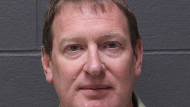 Carl Bezo is accused of trying to meet a minor through a dating website, according to Southington police. (Southington police)