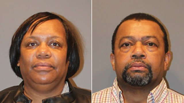 Troy Stevenson and Betty Chappell were arrested after police said theyforged absentee ballots for the November 2017 mayoral election in Stafford. (Stratford Police Department)