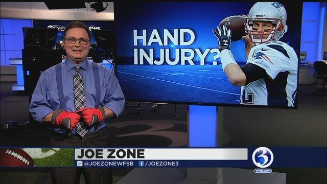 Joe Zone talks about Brady's hand injury?