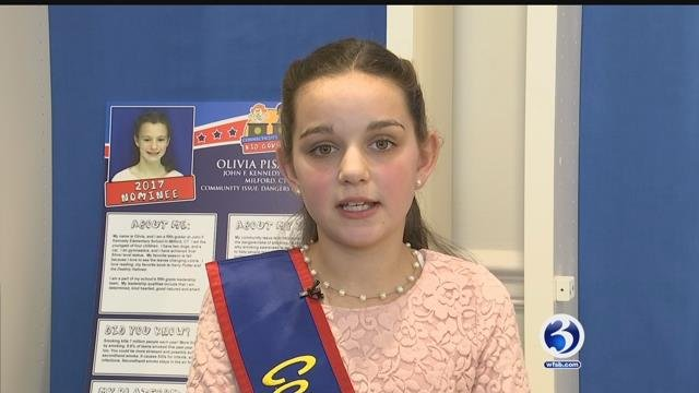 CT Kid Governor celebrates her inauguration day