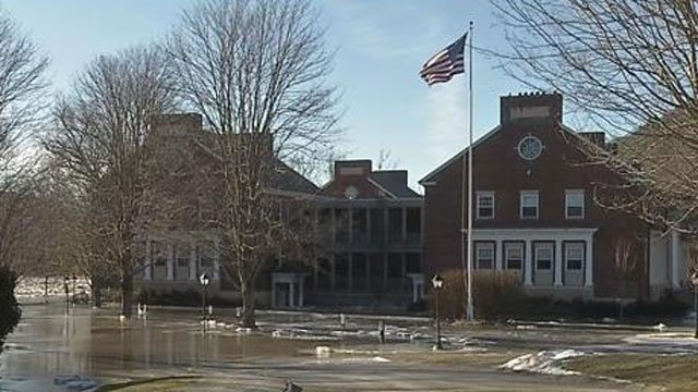 Students are expected to return this week to a private boarding school in Kent that was evacuated because of flooding. (WFSB file photo)