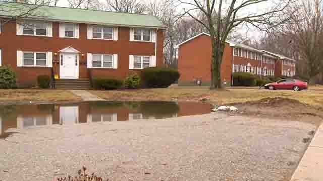 A woman in Willimantic says issues with her apartment complex are impacting her health (WFSB)