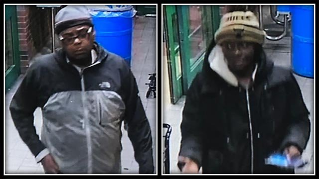 Shelton police are looking to identify these two individuals (Shelton Police)