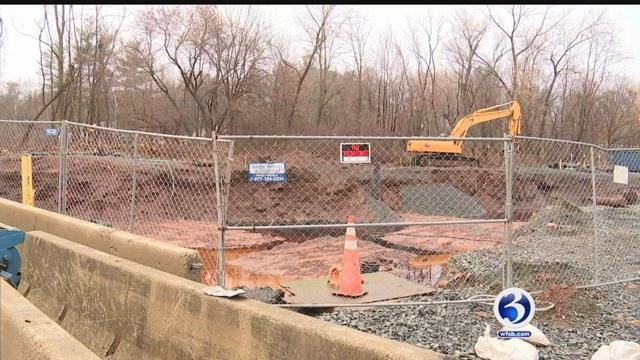 A diesel spill was discovered at a bus garage in Newington in late December. (WFSB file)
