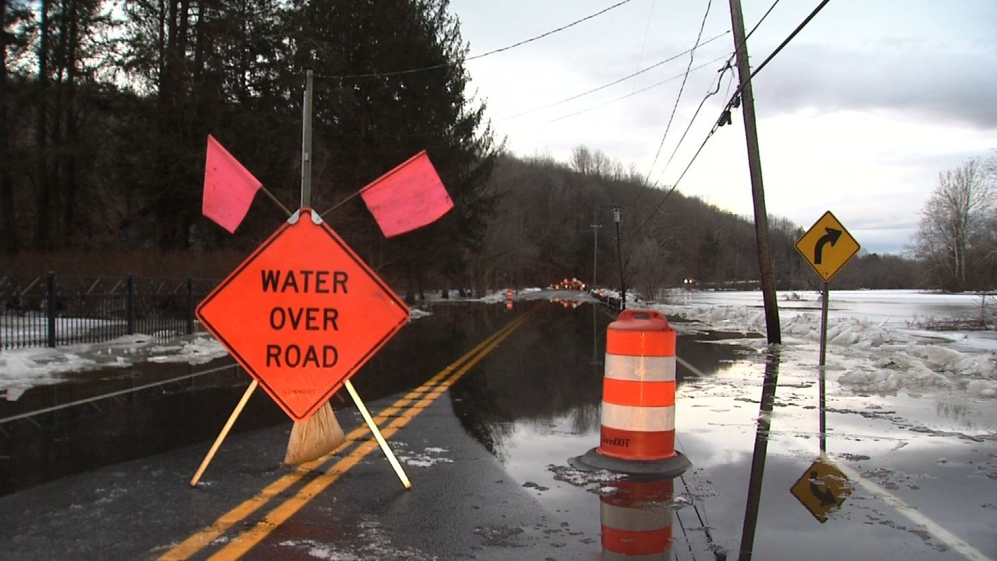Flooding remains a concern in Kent. (WFSB)