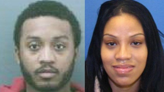Carlton Depeyster and Raven Brucelis are wanted for their involvement in an East Hartford grocery store shooting last week. (East Hartford police)