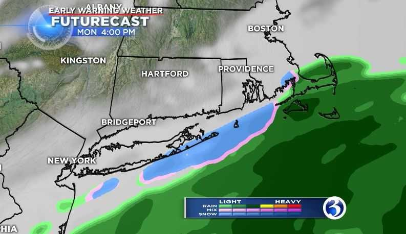 Snow possible for southeastern CT, unsettled weather upcoming (WFSB)