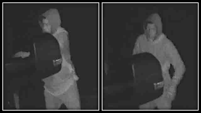 Police are looking to identify a suspect in an attempted car break-in in Tolland (CT State police)