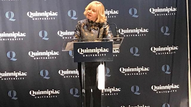 Judy Olian will become QU's first female president (WFSB)