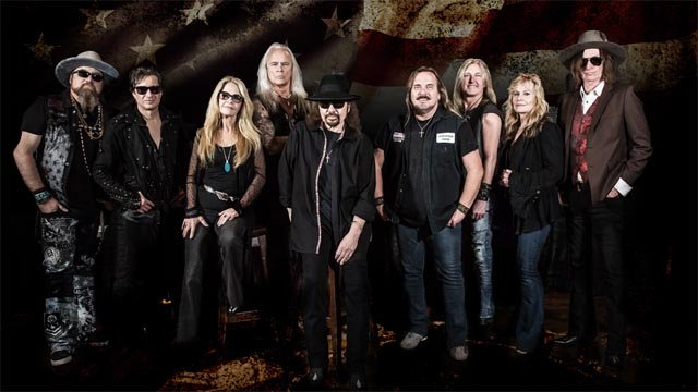 Lynyrd Skynyrd will make a stop in Hartford (LIVE NATION)
