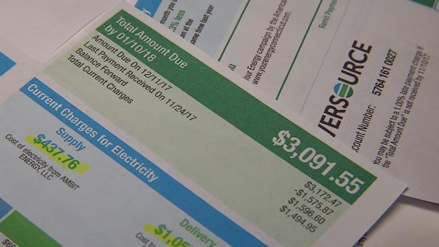 A local pastor is upset with his recent bill from Eversource (WFSB)