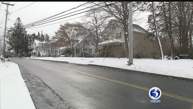 Burglars are targeting homes along the shoreline, including Milford (WFSB)