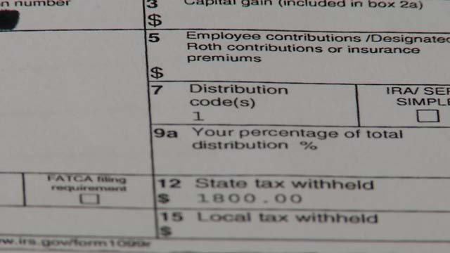 A tax error could be affecting retirees in the state (WFSB)