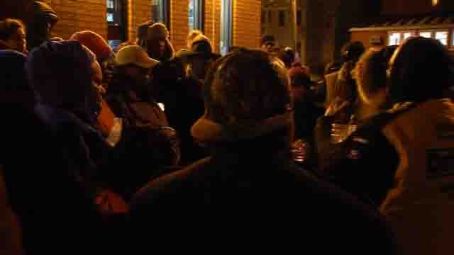 Family and friends of Deidre Gray gathered Tuesday evening for a vigil in her memory (WFSB)