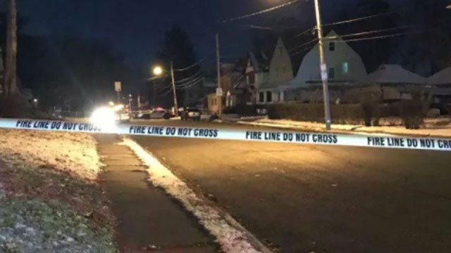 A man was shot multiple times in Hartford early Wednesday morning. (WFSB)